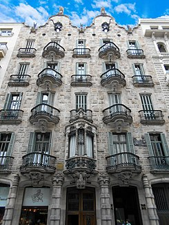 Casa calvet wikipedia la enciclopedia libre - Calle casp barcelona ...