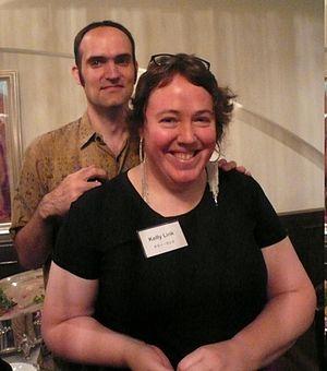 Gavin Grant (editor) - Gavin Grant with Kelly Link