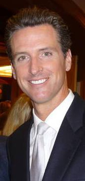 Gavin Newsom - Newsom in 2009