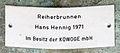Gedenktafel Bölschestr 110 (Frihg) Reiherbrunnen Hans-Detlev Henning.jpg