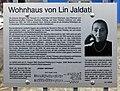 Gedenktafel Puschkinallee 41 (Eichwalde) Lin Jaldati.jpg