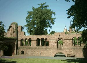 Barbarossa city - Imperial country castle at Gelnhausen 2005