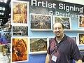 Gen Con Indy 2008 - artist (Tom Baxa 1).JPG