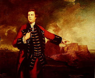 George Keppel, 3rd Earl of Albemarle - General William Keppel, Storming the Morro Castle, by Joshua Reynolds