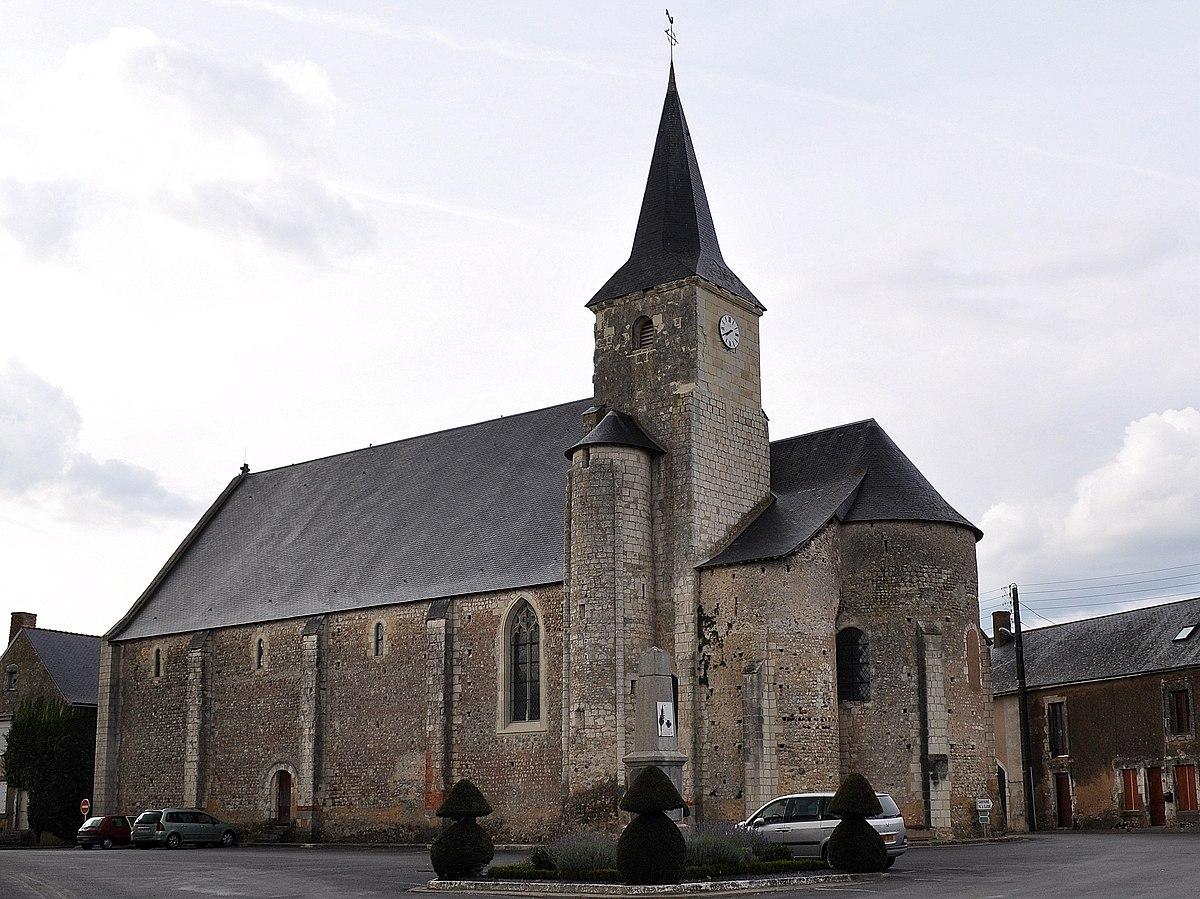 Glise saint martin de genneteil wikip dia for Architecte maine et loire