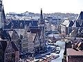 Gent Graslei viewed from Burg Gravensteen 3.jpg