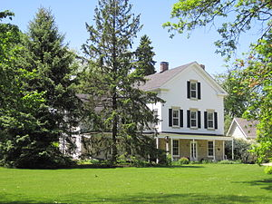 National Register of Historic Places listings in DuPage County, Illinois - Image: George Baker House
