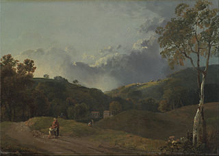 Landscape with Cottager