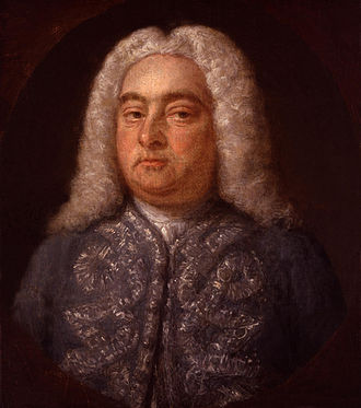 Royal Academy of Music (company) - Handel by Francis Kyte, from the National Portrait Gallery.