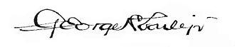 George Howard Earle Jr. - Image: George H. Earle, Jr. signature 1920
