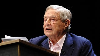 Hedge fund - George Soros, fund manager of Quantum Group of Funds