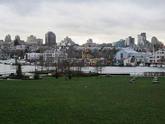 George Wainborn Park - George Wainborn Park and the Fairview neighbourhood