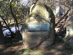 George Washington Hill - The gravesite of George Washington Hill