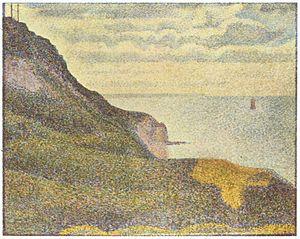 Les Grues et la percée à Port-en-Bessin