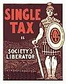 Georgist Single Tax Poster.jpg