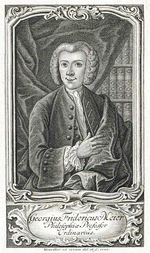Georg Friedrich Meier - Image: Georgius Fridericus Meier (6536462973)
