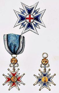 Royal Order of Saint George for the Defense of the Immaculate Conception