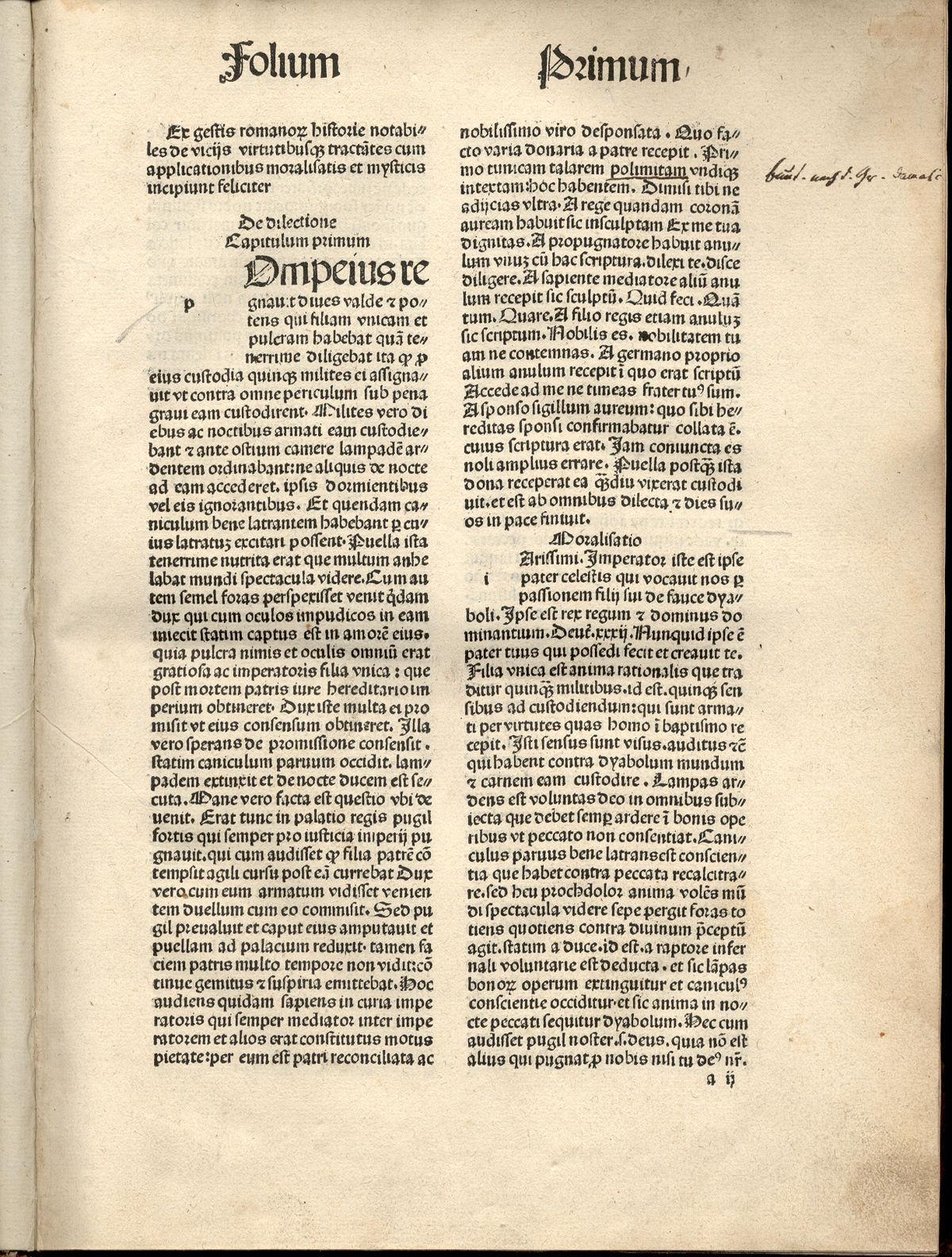 Resultado de imagen de gesta romanorum latin