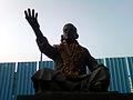 Ghantasala Statue at RK Beach Road 02.jpg