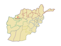 Ghormach village in map of Afghanistan.png