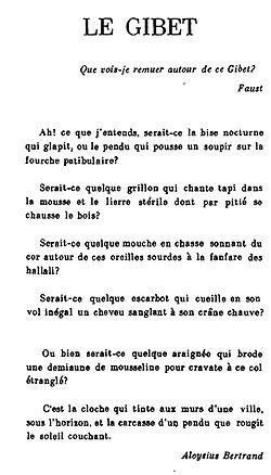Gaspard de la nuit (Ravel) - Wikipedia