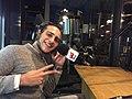Gigi Adamashvili at Radio NRJ in 2017.jpg