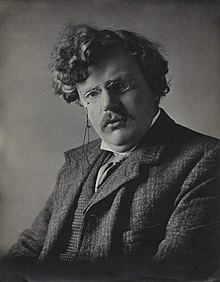 G. K. Chesterton, by E. H. Mills, 1909
