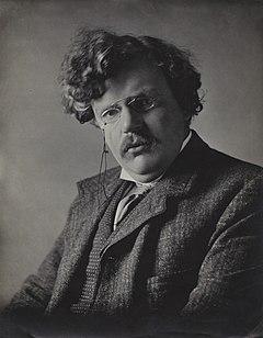 G. K. Chesterton, av E. H. Mills, 1909.