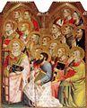 Giovanni del Biondo - Incoronazione della Vergine (1) - Chiesa san Lorenzo - San Giovanni Valdarno.jpg