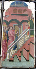 The Virgin Climbing the Steps of the Temple