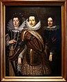 Giusto suttermans, ritratto di cosimo II de' medici con la moglie maria maddalena d'austria e il figlio ferdinando II, 1640 ca.jpg