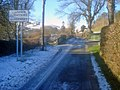Gladestry village sign - geograph.org.uk - 1723775.jpg