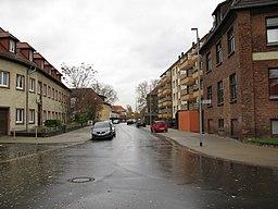 Glashüttenstraße in Hannover