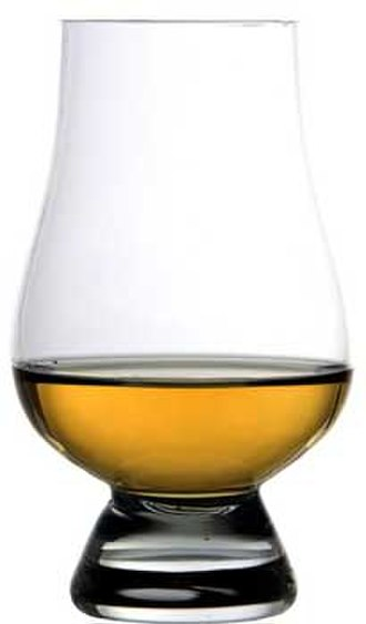 Glencairn whisky glass - A Glencairn whisky glass