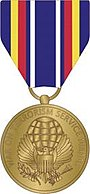 Global War on Terrorism Service Medal, obverse