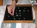 Godstone coins at the Annual Report Launch.jpg