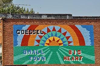 Goessel, Kansas - Goessel mural (2015)
