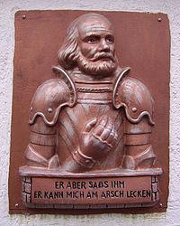 Goetz von Berlichingen in Weisenheim am Sand