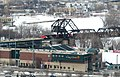 Goldeyes Baseball Club and Waterfront Drv Bridge, Winnipeg - panoramio.jpg
