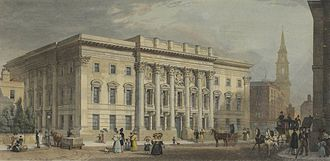 Worshipful Company of Goldsmiths - The third and present Goldsmiths' Hall in the second half of the 19th century