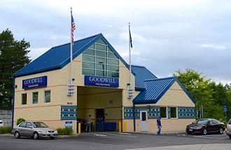 Goodwill Industries - Goodwill donation center in Hillsboro, Oregon