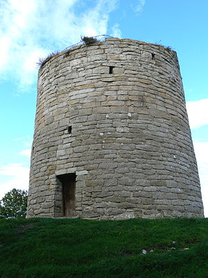 Sundre Church - Defensive tower adjacent to the church