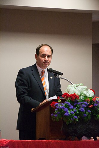 Zach Wamp - Wamp speaking during his campaign, at the 2010 Tennessee Governor's Luncheon
