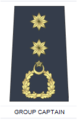 A PAF group-captain's rank insignia.