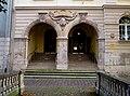 Graben 4, Portal histor.Sparkasse, Weimar.JPG