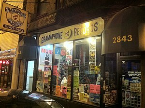 Chicago house - Gramaphone Records is known as the home of house records in Chicago