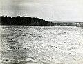 Grande Décharge au début des inondations de 1928, Alma (Québec).jpg