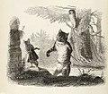 Grandville - Fables de La Fontaine - 08-22 . Le Chat et le Rat.jpg