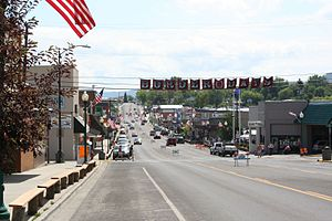 Grangeville, Idaho - Main Street in July 2008
