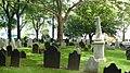 Graves at St. Paul's Chapel, New York City - panoramio.jpg